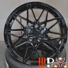 19 inch Competition Style Wheels Gloss Black Fits BMW 1 2 3 4 Series 328