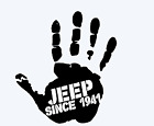 JEEP SINCE 1941 wave Wrangler Renegade Cherokee WILLYS TJ JK JL decal 47 COLOURS