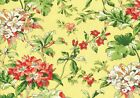 Waverly Fabric Fawn Hill Citrus Cotton Drapery Upholstery
