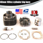 Performance Big Bore Cylinder Kit 48mm 100cc for JOG50 50CC YAMAHA BWS ZUMA