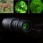 DayNight Vision 40X60 HD Optical Monocular Hunting Camping Hiking Telescope