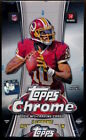 2012 Topps Chrome Football New Sealed HOBBY BOX - Luck Wilson - will crack case