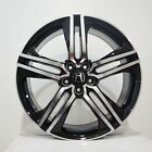 Set of 4 Rims 20 inch Black Machined Rims fits HONDA ACCORD CROSSTOUR 2010 2011