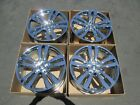 19 jaguar xj xf toba new chrome wheels rims set 4 staggered fronts rears