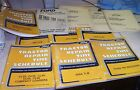 HUGE DEALER FORD INDUSTRIAL BACKHOE LOADER  TRACTOR REPAIR TIME SCHEDULE LOT