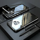 360° Magnet Hülle Für Samsung Galaxy S7 S8 S9 Iphone 7/8 Plus X Glas Case Metall