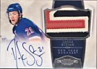 2010-11 Dominion AUTOGRAPH PATCH ROOKIE RC #242 DEREK STEPAN 99 SP Auto Rangers