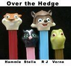 PEZ - Over the Hedge Series - Choose Character and Condition from Pull Down Menu