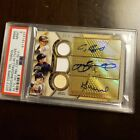 Altuve Biggio Bagwell Autograph 2017 Topps Triple Threads 3 of 27 PSA 1 of 1