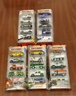 New Lot 5 Matchbox 5 Pack Sets Police Metro Transit Heroic Diecast 164