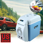 Portable 7.5L Car Mini Fridge Cooler and Warmer for Home, Office, Car, Boat Blue