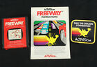 Freeway Atari 2600 Game Cartridge, Award Patch & Manual - Genuine 80s