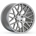 20 ROHANA RFX10 20x9 20x11 BRUSHED TITANIUM FORGED CONCAVE WHEELS AUDI R8