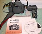 Canon EOS Rebel XSi 450D 122MP 3 LCD DSLR Body Excellent