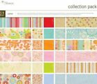 BASIC GREY Gypsy ROMANI 12x12 Collection PACK Scrapbook Paper Pink Aqua +Ribbon