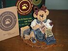 Boyds Bears 1999   ~1E MS. FRIDAY...TAKE THIS JOB~     STYLE #228318