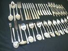 SERVICE FOR 6 PLUS EXTRAS NOBILITY PLATE CAPRICE FLATWARE SET 56 pc. SILVERPLATE