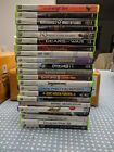 XBOX 360 GAMES - YOUR CHOICE - ASSORTED - LIKE NEW