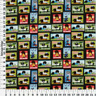 SPORTS PETS DOGS CATS PATCH 100 COTTON FABRIC BY THE 1 2 YARD