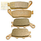 F+R Sintered Brake Pads For Honda VT 1100 C2 Shadow 1995-2007 2006 2005 2004