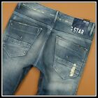 G STAR RAW ARC LOOSE TAPERED WOMAN JEANS 60236 3161 VINTAGE DESTROY W28 L32