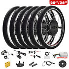 20 26 E bike Front Rear Wheel Motor Electric Bicycle Conversion Kit Cycling
