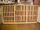 Vintage HAMILTON Printers Type Set Cabinet Drawer Tray Wood 32