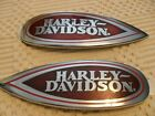 Harley Davidson Heritage Springer FLSTS OEM-NOS-RED-  Fuel Tank Emblems NEW!!!