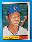 1961 TOPPS BASEBALL #169 DON ELSTON  check out my 100s of vintage cards