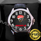 LIMITED !!! DUCATI-CORSE-LOGO-12-LEATHER-WATCH