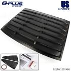 Rear Back Window Louver + 1 4 Side Window Louver For 2005 2014 Ford Mustang GT