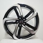 4 20 inch Black Machined Rims fits 20X85 ET45 HONDA ACCORD CROSSTOUR 2010 15