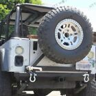 Rear Rock Crawler Rear Bumper Tire Carrier Swing for 87 06 Jeep Wrangler YJ TJ