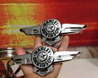 5 Sets 2018 Genuine OEM Harley Softail Fatboy Touring Gas Fuel Tank Emblems