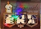 WHITEY FORD 2010 TOPPS TRIPLE THREADS 1 1!!! YANKEES Patch Jersey