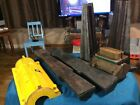 Lot Of Vintage Wood Industrial Sand Casting Mold - Wood Pattern Molds See Photos