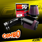 For 09-18 Maxima 3.5L V6 Black Cold Air Intake + K&N Air Filter