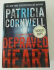 Depraved Heart by Patricia Cornwell 2015 Hardcover SIGNED NEW