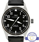 IWC Classic Pilot Mark XVI Black 39mm Stainless Date IW325501 3255 3255-01 Watch