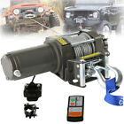 3500LBS Electric 12V Winch ATV Trailer Towing Truck UTV Steel Cable Off Road 4WD