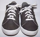 CONVERSE ONE STAR Youth Sneaker Low Top Shoes 5 Gray Skulls Guitar