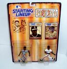 BASEBALL GREATS WILLIE McCOVEY & WILLIE MAYS STARTING LINEUP 1989