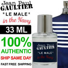 Jean Paul Gaultier Le Male In The Navy 33ml Decant Spray Bottle 100% Authentic