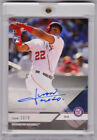 Juan Soto Nationals Rookie Autograph 2018 Topps NOW Platinum Members Only AUTO