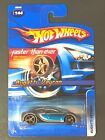 Hot Wheels 2006 Faster Than Ever Bugatti Veyron silver blue 144 FTE