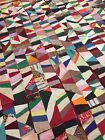 54 Antique Quilt Blocks, foundation pieced, 10 inch square, excellent condition