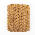 5mlot Trim Sewing Lace Gold Silver Centipede Braided Ribbon Clothes Accessories