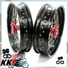 CRF250X 04-18 CRF450X 05-18 HONDA MOTARD 3.5*17/4.25*17 SUPERMOTO WHEEL RIM SET