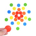 100pcs 24MM Plastic Poker Chips Bingo Markers Fun Family Club Game Party Toy HI