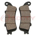 Front Organic Brake Pads 2004-2007 Honda NSS250AS Reflex Sport ABS Set Full rw